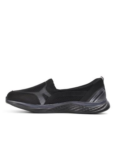 Forelli Gediz Siyah Comfort Kadın Spor Ayakkabı Siyah